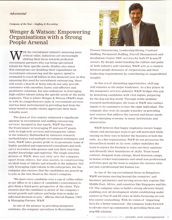article-about-wenger-watson-in-asco-magazine