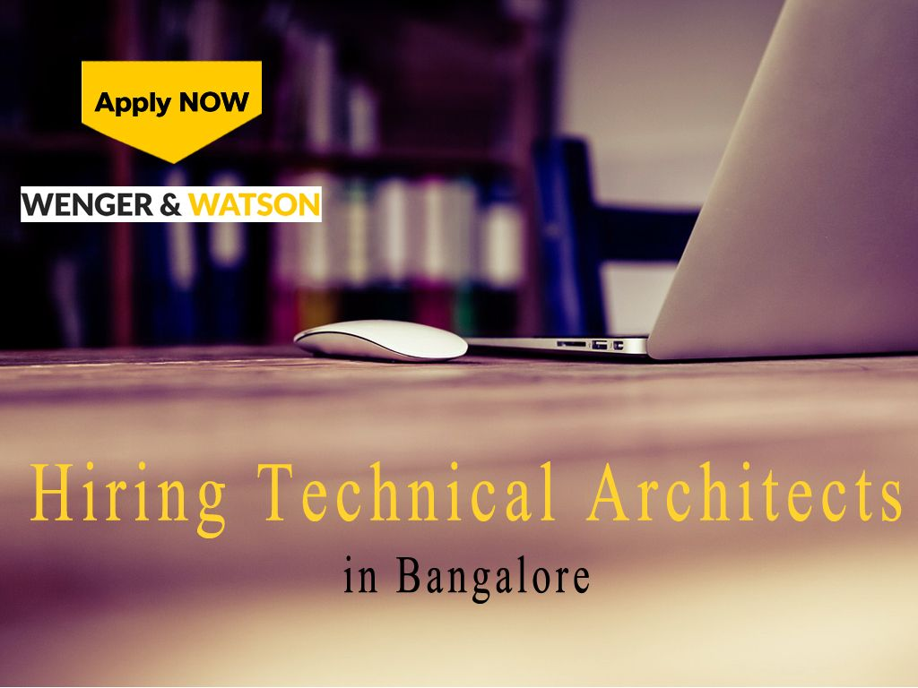 Technical Architect jobs in Bangalore